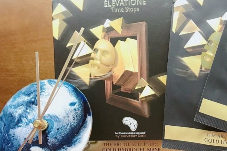 ÉLÉVATIONE Gold Hydrogel Mask金箔啫喱面膜