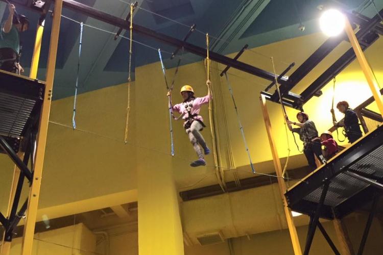 EpicLand富挑戰性的air trek越障訓練