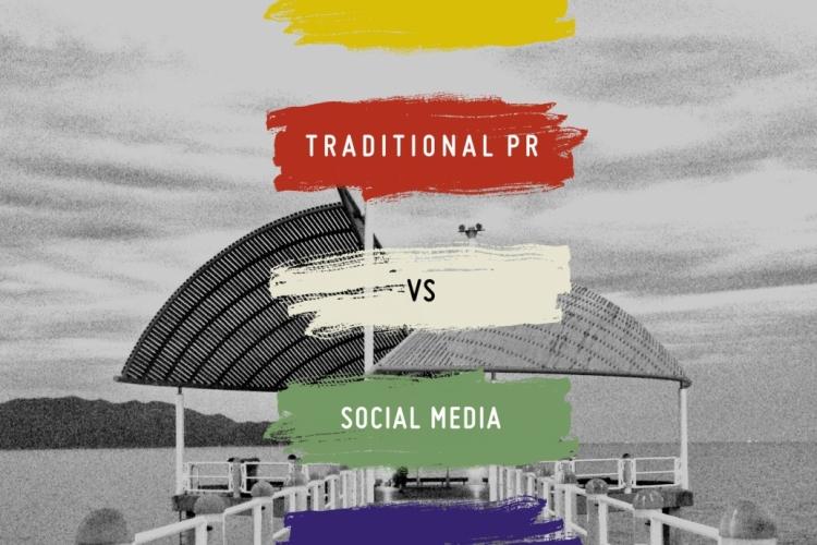 當傳統公關遇上社交媒體
