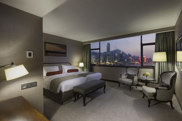 馬哥孛羅香港酒店豪華海景客房