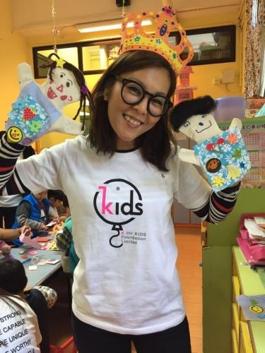 2015 年初成立 K For Kids Foundation,支援更多需要幫助的小朋友。