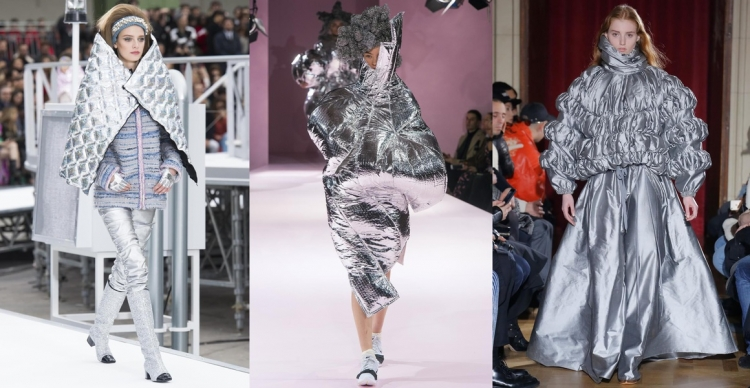 17秋冬系列(左至右) :Chanel, Comme des Garcons, Y/Project