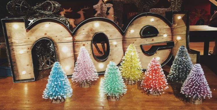 7棵迷你聖誕樹套裝  $220