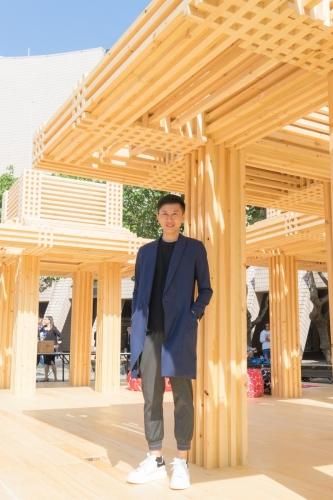 本地得獎年輕建築師蕭國健與他的涼亭「leong4 ting2」