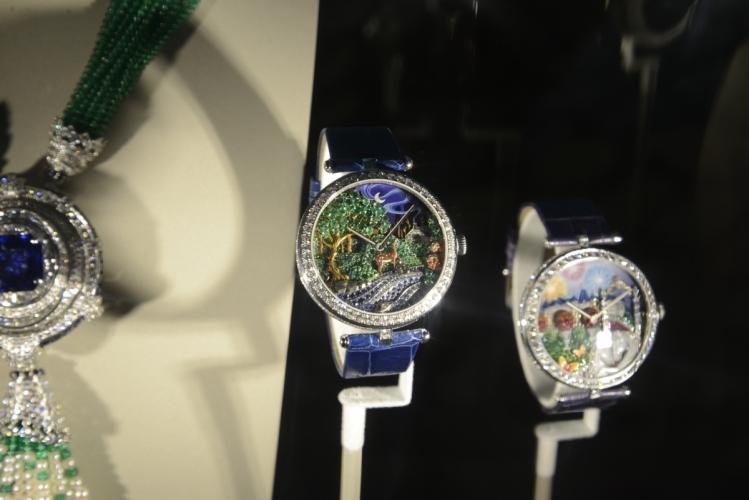 Van Cleef & Arpels Lady Arpels Peau d'Ane Foret enchantee腕錶