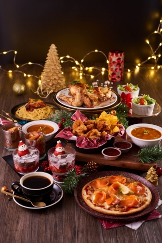 滋味共聚聖誕烤雞套餐