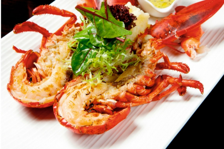 Grilled Boston Lobster