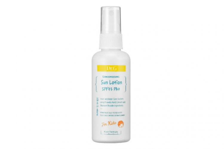 Dr. G Sun Lotion SPF32 PA+ for Kids $196/100ml
