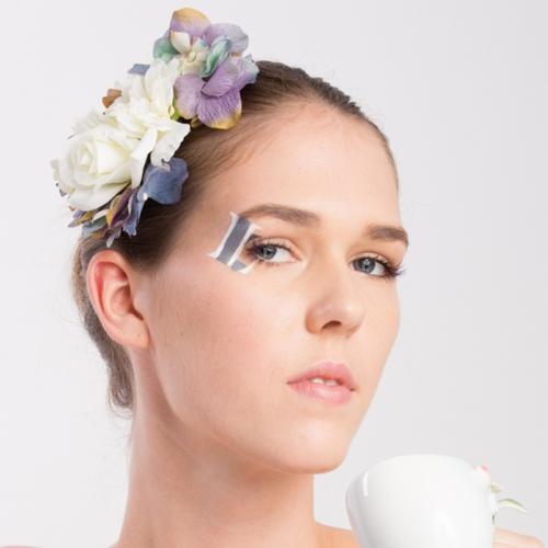 配合五官的睫毛造型,有助改善輪廓觀感。