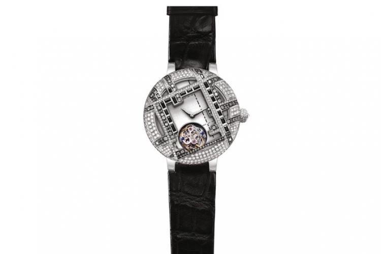 Kutour「Tweed 隨意」陀飛輪腕錶 $368,000