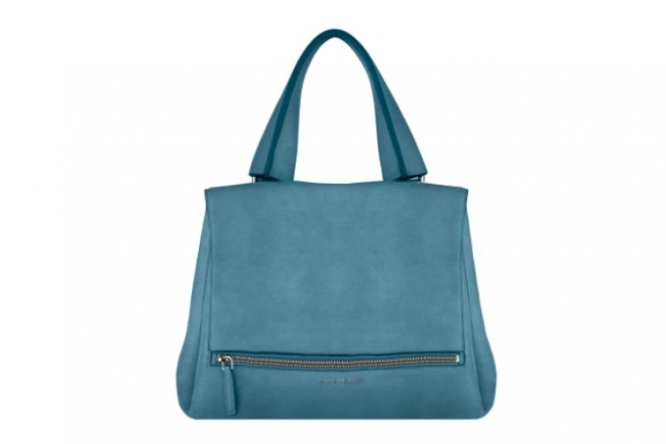 Pandora Pure 淺藍色磨砂皮中號手挽袋 $19,900