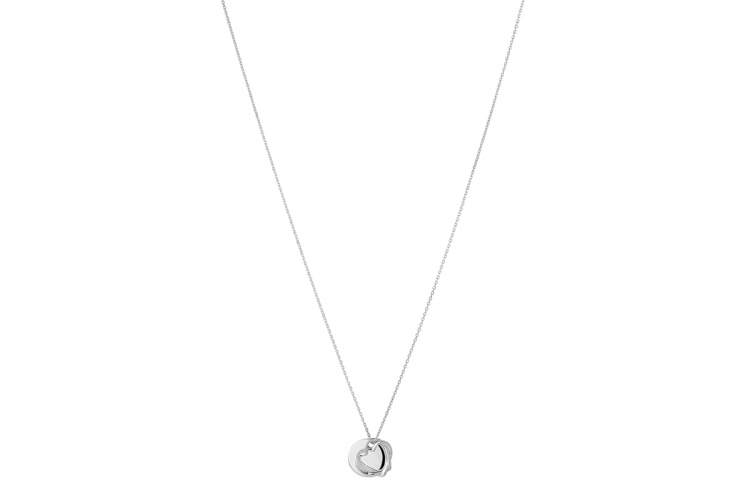 Kindred Soul Collection Disk Pendant Necklace Silver $1,650