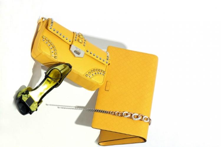 Swarovski 玫瑰金拼銀色綴水晶頸鏈 $3,500
