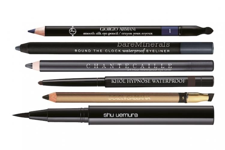 市場上有不同種類的眼線筆,就算是化妝初學者也能容易地拿捏使用竅門。