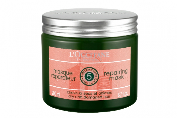 L'Occitan Repairing Mask for dry and damaged hair ($280)