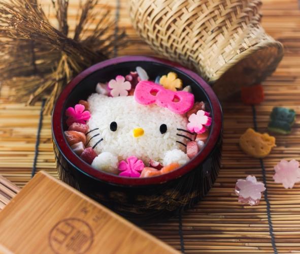 Hello Kitty 海鮮丼($198)