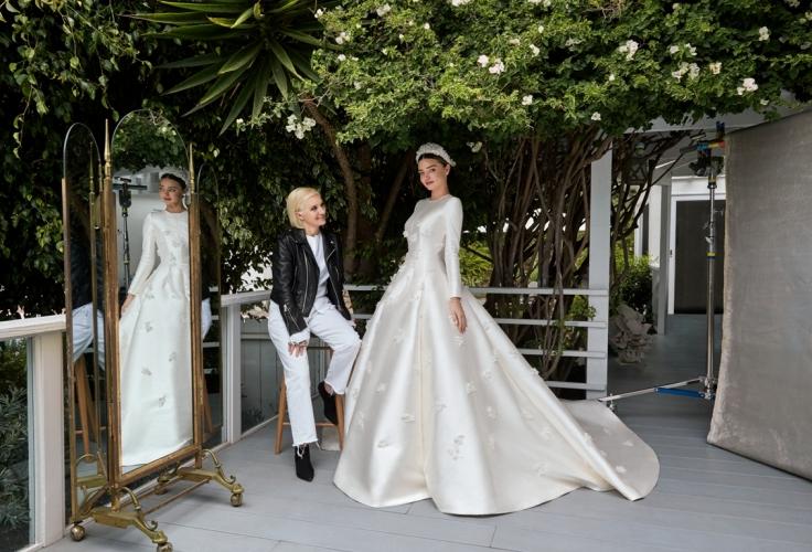 Dior藝術總監 Maria Grazia Chiuri及Miranda Kerr