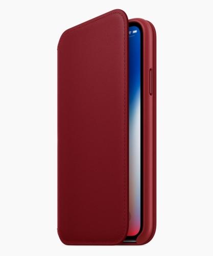 iPhone X 皮革Folio