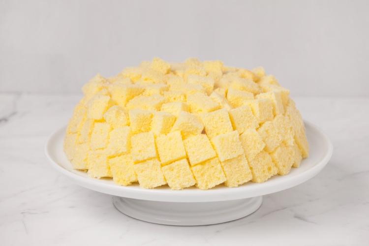 Mimosa Cake Hk