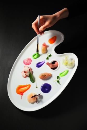 Cucina 前菜「鮮『色』奪人」
