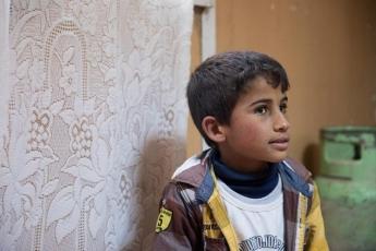 對流落他鄉的敘利亞孩子來說,上學讀書的機會彌足珍貴。Photo credit @Chris Luk