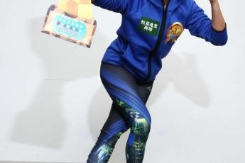 王蘊妮是香港女子速度滾軸溜冰8項紀錄保持者。