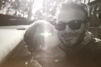 Harper & David Beckham