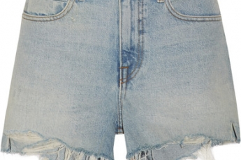 Bite Distressed Denim Shorts HK$1,900 (ALEXANDER WANG)