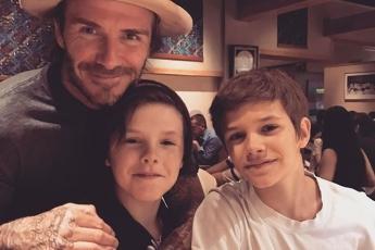 Cruz & Romeo & David Beckham
