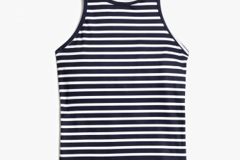 J.Crew RICHMOND TANK WITH BUILT IN BRA IN STRIPE $580