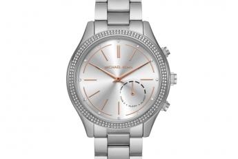 Michael Kors Hybrid銀色智能腕錶 HK$3,000