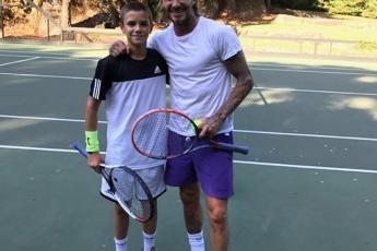 Romeo & David Beckham