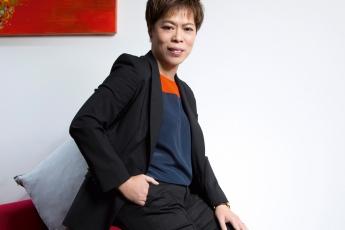 美贊臣營養品副總裁及香港區總經理王月歡