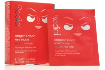 Rodial Dragon's Blood Eye Masks($480/8片) 血竭緊緻眼膜強效保濕滋潤,有助緊緻和撫平細紋,提升眼部輪廓,即時紓緩眼部浮腫和減淡眼圈暗沉。