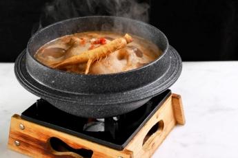 法國春雞人蔘湯底