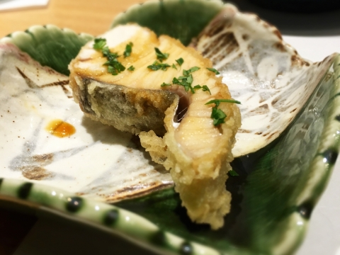 "Tempura - Japanese Mackerel ""Sawara"""