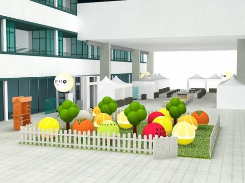 巨型遊樂果園佈置