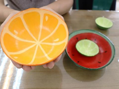 彩繪水果碗體驗坊