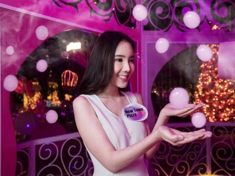 「星光泡泡許願泉」綻放過百萬個Eternal Bubbles願望球。