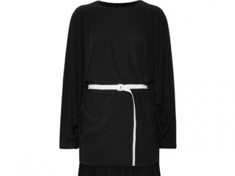 Belted asymmetric jersey dress  HK$704 (NORMA KAMALI)