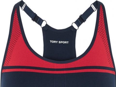 Stretch-jersey sports bra HK$750 (TORY SPORT)