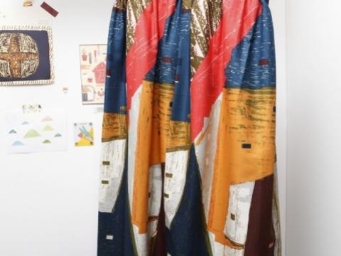 特別為秋季打造的日本布料裙子。