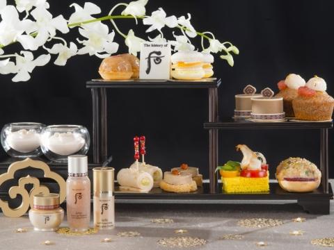 甜點設計如皇后首飾般華美,鹹點特選多款養生味佳食材。