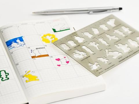 Tip 1 畫上你喜愛的卡通,令手帳充滿生氣。