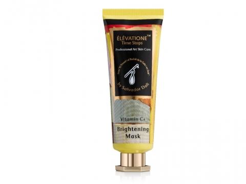 Elevatione Vitamin C+ Brightening Mask亮白面膜含有阿爾卑斯山玫瑰,有助肌膚再生及修復受損肌膚細胞。 HK$1,180