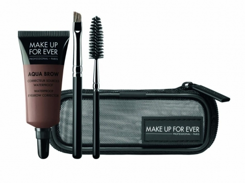 Make Up For Ever Aqua Brow Kit($420) Ipsa Eye Brow Powder($140)
