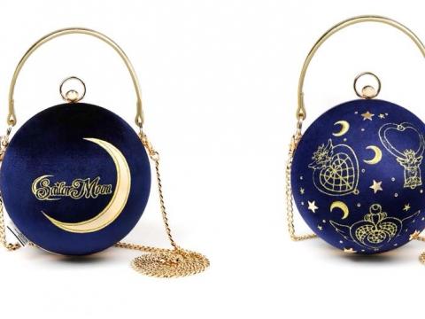 :CHOCOOLATE |Sailor Moon絲絨星空圖案袋 HK$359