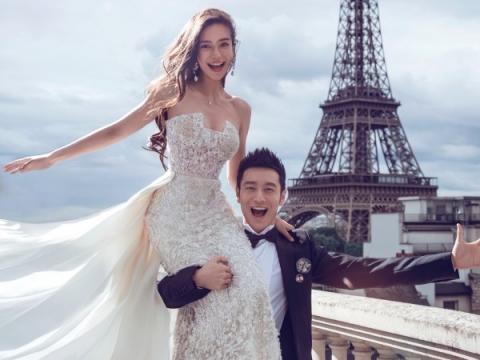 Baby的公主嫁衣同樣由Dior工坊打造,費時5個月。
