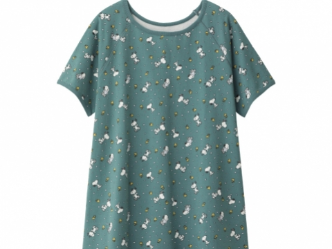 PEANUTS  x GU Lounge Printed Dress HK$179