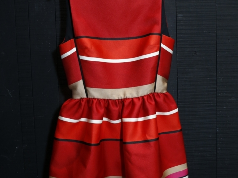 Lavin red dress $6,840 (Original Price: $22,800)